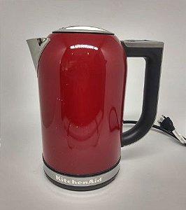 Chaleira Elétrica Kitchenaind Vermelha 110V -1,7 L