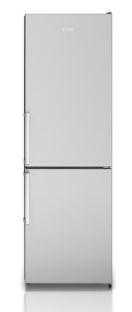 Refrigerador Bottom Freezer, 310 litros, portas em Inox, piso ou embutido, 127V - Tecno
