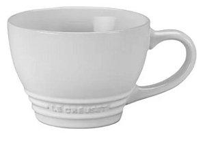 Caneca Bistrô 400 ml Branco- Le Creuset