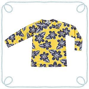 Camiseta Orquídea - manga longa