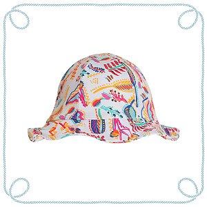 Chapéu infantil - Gardênia