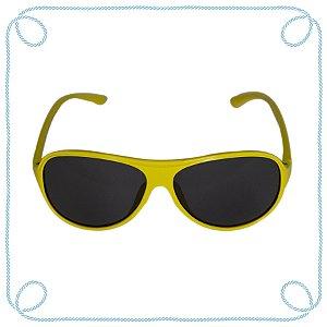 Óculos de sol infantil amarelo