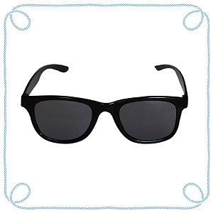 Óculos de sol infantil preto