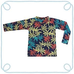 Camiseta Coqueiros - manga longa