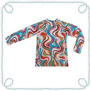 Camiseta Colorida (com proteção UV)
