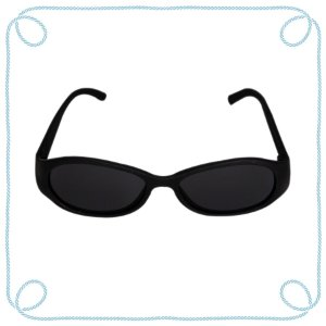 Óculos de sol baby preto