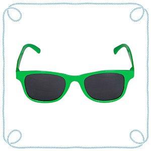 Óculos de sol infantil verde (quadrado)