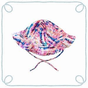 Chapéu infantil - Tie Dye