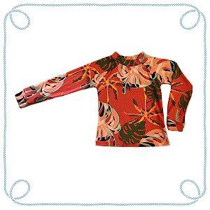 Camiseta Folhas (com proteção UV)