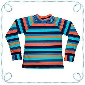 Camiseta infantil com proteção UV - Uni-duni-tê