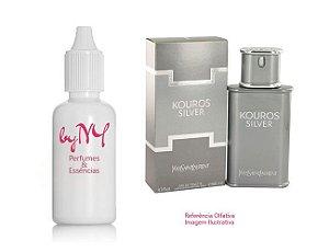 Essência Importada Masculina Inspirada Kouros Silver Yves Saint Laurent