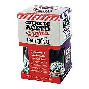 Kit Gourmet Creme de Aceto de Lichia - 4 sabores