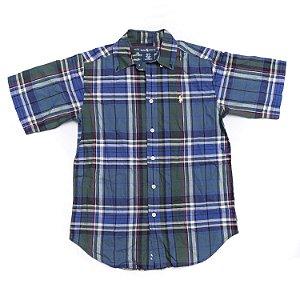 RALPH LAUREN - Camisa Xadrez Azul