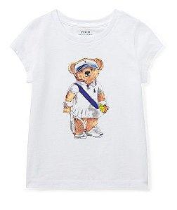RALPH LAUREN - Camiseta Polo Bear Kids Tênis