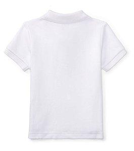 RALPH LAUREN - Camisa Polo Baby Branca zoom da6ac20011f