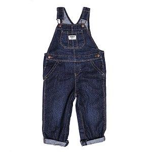 Jardineira Jeans com Glitter
