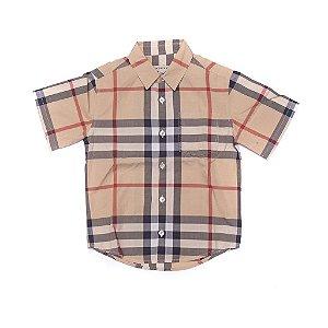 BURBERRY - Camisa Xadrez