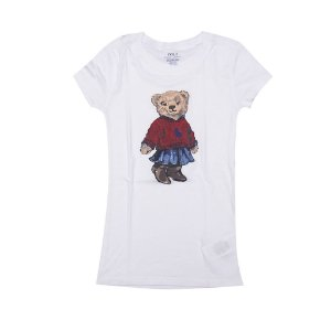 RALPH LAUREN - Camiseta Polo Bear Saia