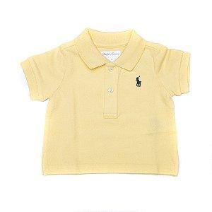RALPH LAUREN - Camisa Polo Baby Amarela