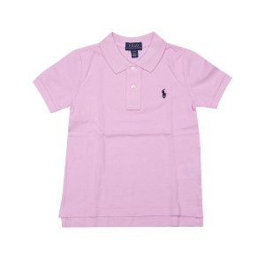 RALPH LAUREN - Camisa Polo Kids Rosa