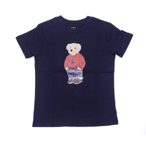 RALPH LAUREN - Camiseta Polo Bear Juvenil Marinho