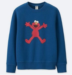 UNIQLO x KAWS x Sesame Street - Moletom Happy Elmo
