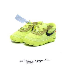 """NIKE - Air Force 1 Low x Off-White """"Volt"""""""