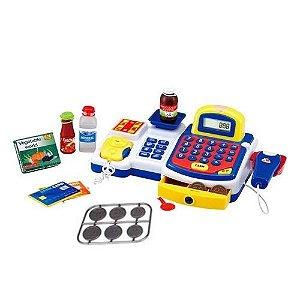 Caixa Registradora Infantil Brinquedo Completa com Acessórios DM Toys