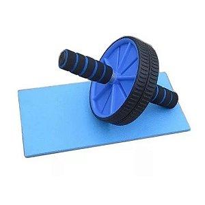 RODA ABDOMINAL Academia Ginastica Fitness Exercicios Abdominais Lombar Cores Variadas