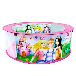 Piscina Divertida para Bolinhas e Brinquedos Infantil Bebê  DM Toys