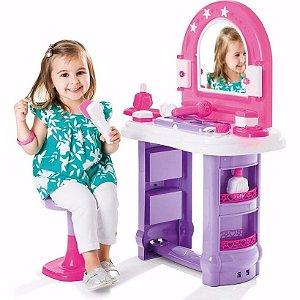 Miss Glamour Casinha Penteadeira Menina Brinquedo Infantil Calesita