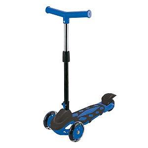 Patinete Radical Power Trinete 3 Rodas Dobravel Altura Ajustavel até 40kg DM Toys