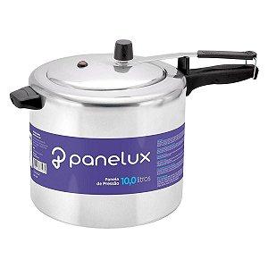 Panela de Pressão Panelux Polida 10 Litros Alumínio Polido Classic Inmetro