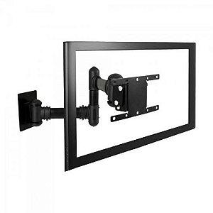 Suporte Triarticulado com Inclinação TV LED LCD 3D Curva 19 a 56 Polegadas STPA50 Multivisão