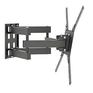 Suporte Triarticulado Com Inclinação para TV Monitor 26 a 65 Polegadas STPA2000-PR Multivisão