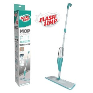 Mop Spray Fit Inteligente Vassoura Rodo com Microfibra Flash Limp MOP0556