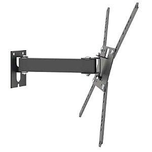 Suporte Articulado de Parede com Inclinação para TV Monitor 14 a 56 Polegadas M2 Multivisão