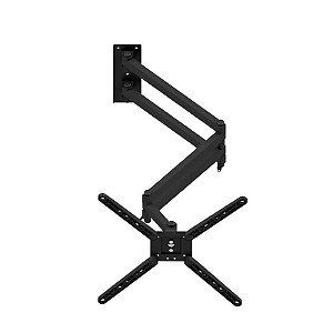 Suporte Quadriarticulado de Parede Tv Monitor Extra Longo 10 Até 55 Polegadas ARE-1040ELT-B Avatron