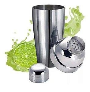 Coqueteleira Inox 500ml para Drinks Bebidas Caipirinha Shaker Bar