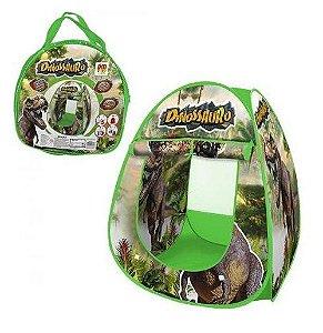 Barraca Infantil Dobrável Toca Tenda Cabana Menino Dinossauro DM Toys DMT5618