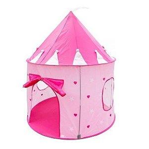 Barraca Castelo das Princesas Infantil Meninas Tenda Toca Super Grande Dm Toys DMT5390