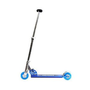 Patinete Infantil Radical 2 Rodas Dobrável Altura Ajustável Alumínio DM Toys DMR4454