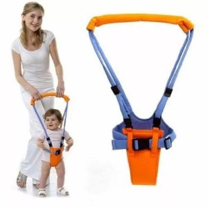 Andador Suspenso Portatil Colete Manual Bebê Auxilia a Andar BWABP001LR