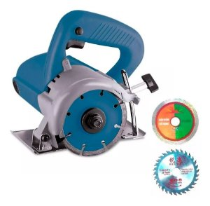 Serra Marmore 1200w 110mm 12000 rpm Piso Madeira Telha Importway IWSM