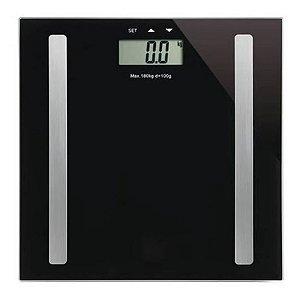 Balança Bioimpedância 180kg Digital Academia Estética Nutrição Medir Gordura Corporal IWBDBIO001