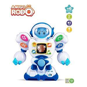 Amigo Robô Brinquedo Educativo Bilingue Portugues Ingles Zoop Toys