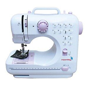 Máquina de Costura 12 Pontos Doméstica Semi Profissional Importway IWMC-505