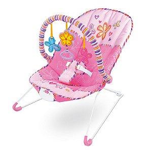 Cadeira de Descanso Vibratória para Bebê Musical com Vibração e Som Importway