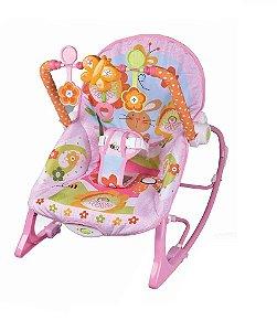 Cadeira de Balanço e Descanso Vibratória para Bebê Musical com Vibração e Som Importway BW094