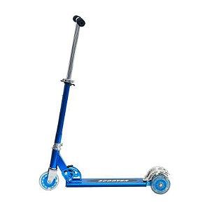 Patinete Infantil Radical 3 Rodas Dobrável Altura Ajustável Alumínio DM Toys DMR4455